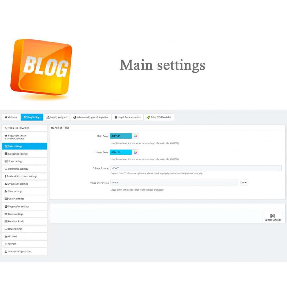 module - Блог, форумов и новостей - Blog PRO + Loyalty Program - 34