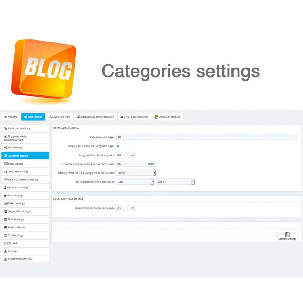 module - Блог, форумов и новостей - Blog PRO + Loyalty Program - 35