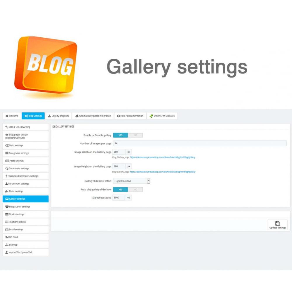 module - Блог, форумов и новостей - Blog PRO + Loyalty Program - 42