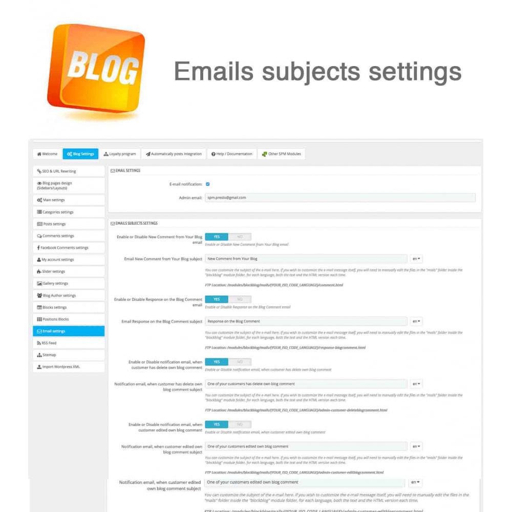 module - Blog, Forum & Actualités - Blog PRO + Programme de fidélité - 47