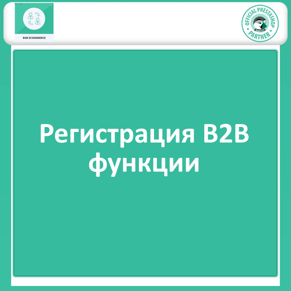 module - B2B - B2B Электронная коммерция - 3