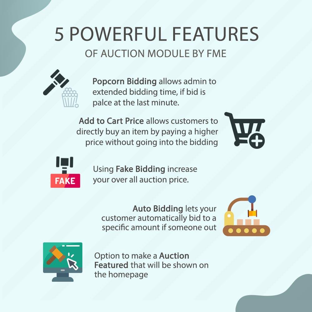 module - Auction Site - Auction Pro, Online Auctions & Bidding - 2