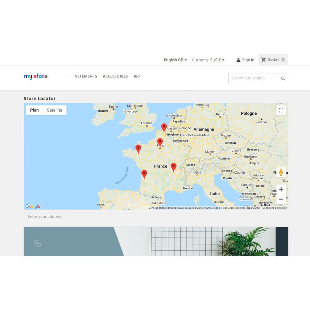 module - International & Localization - Stores locator with Google Maps - 4