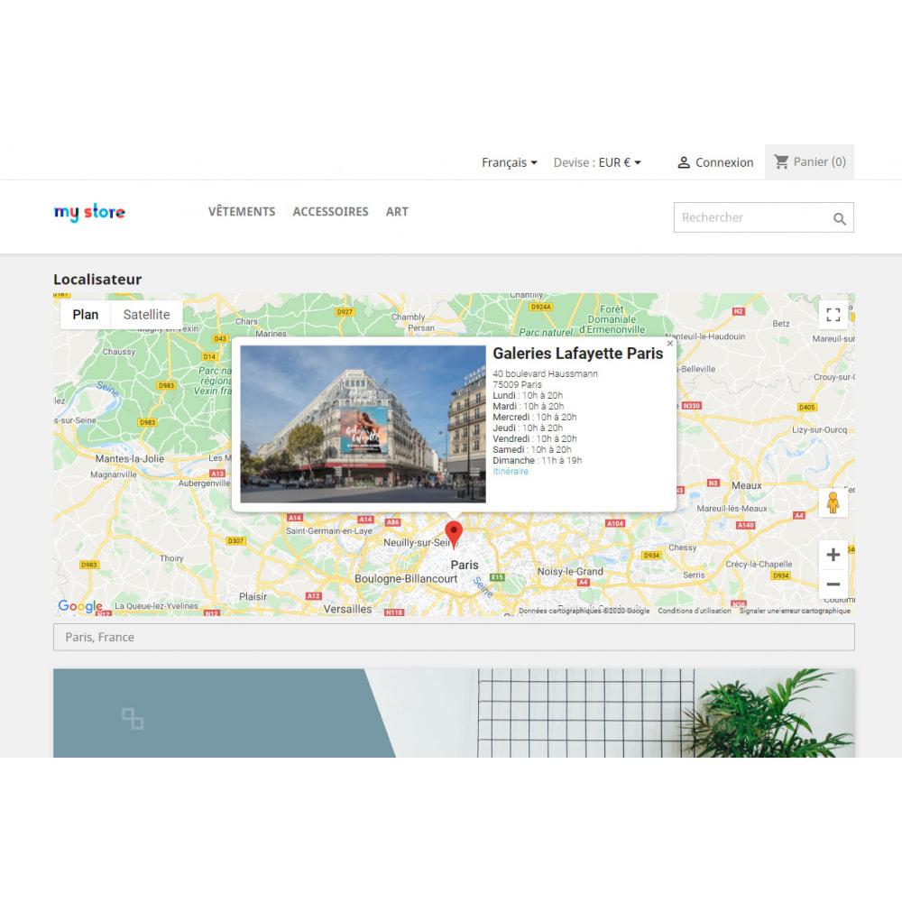 module - International & Localisation - Localisateur de magasins avec Google Maps - 4