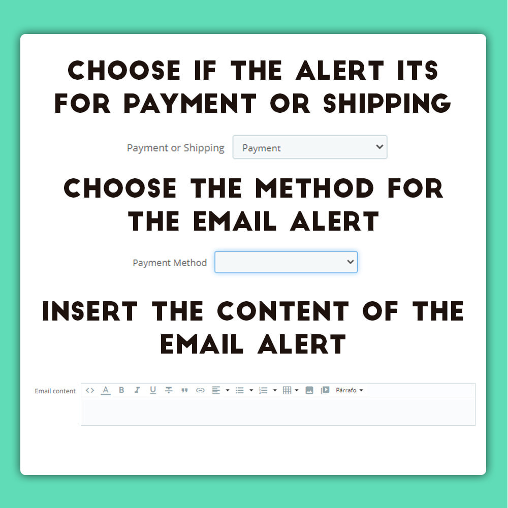 module - E-Mails & Benachrichtigungen - Extra Mail for Payment and Shipping - 3