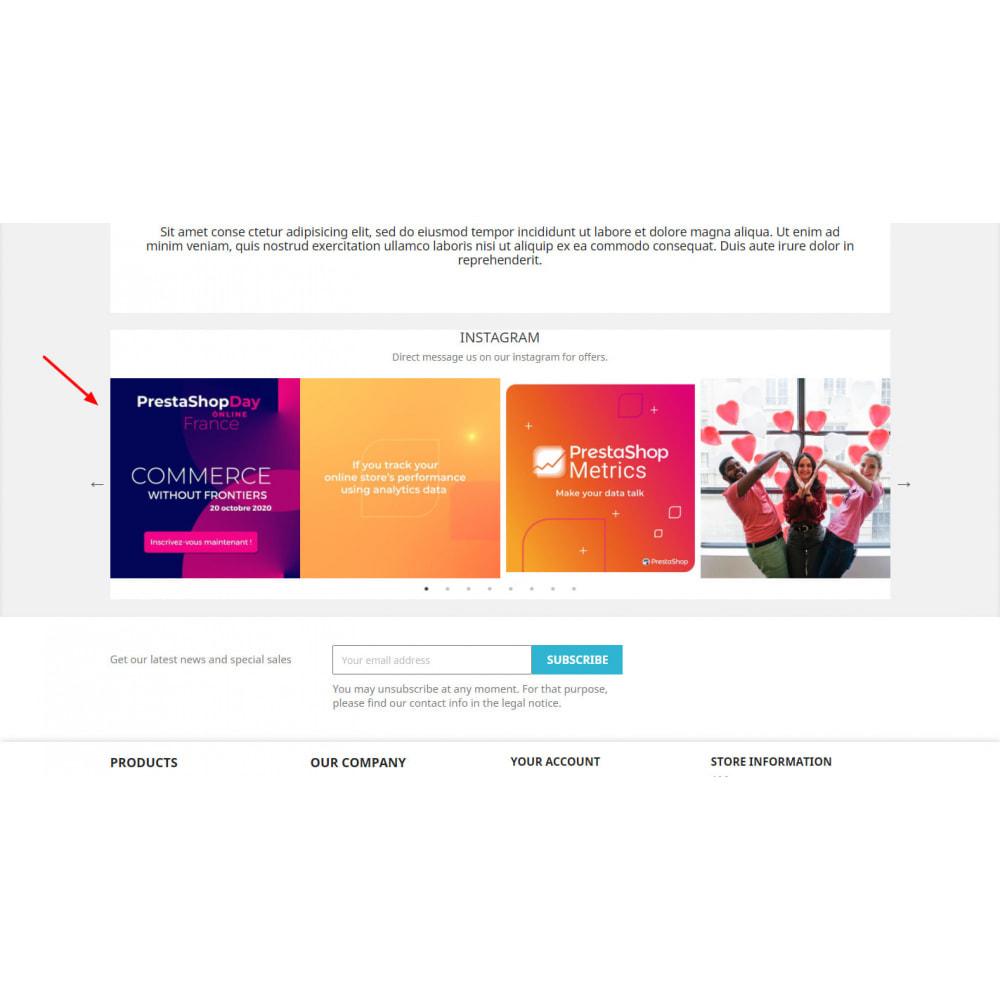 module - Slider & Gallerie - Instagram Feed New API - Carousel - 5