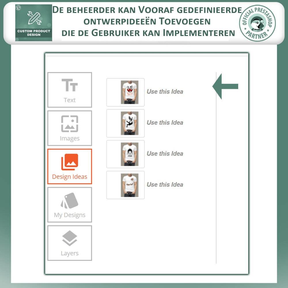 module - Versies & Personalisering van producten - Maatwerk Product Ontwerper, Product Aanpassingen - 5