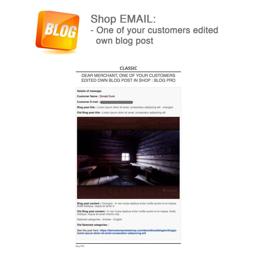 module - Блог, форумов и новостей - Blog PRO + Loyalty Program - 70