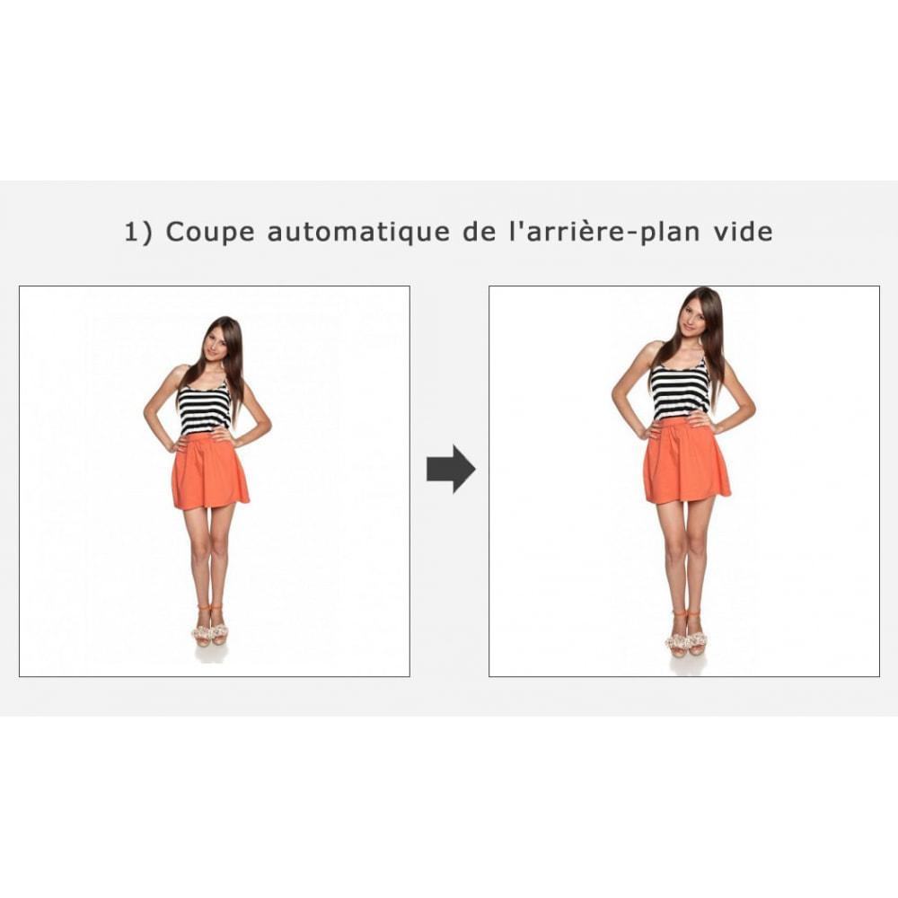 module - Personnalisation de Page - Découpage automatique et recadrage des images - 1