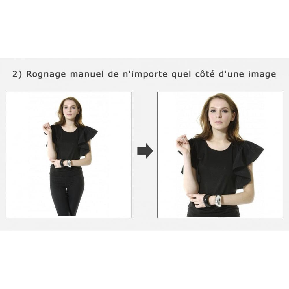 module - Personnalisation de Page - Découpage automatique et recadrage des images - 2