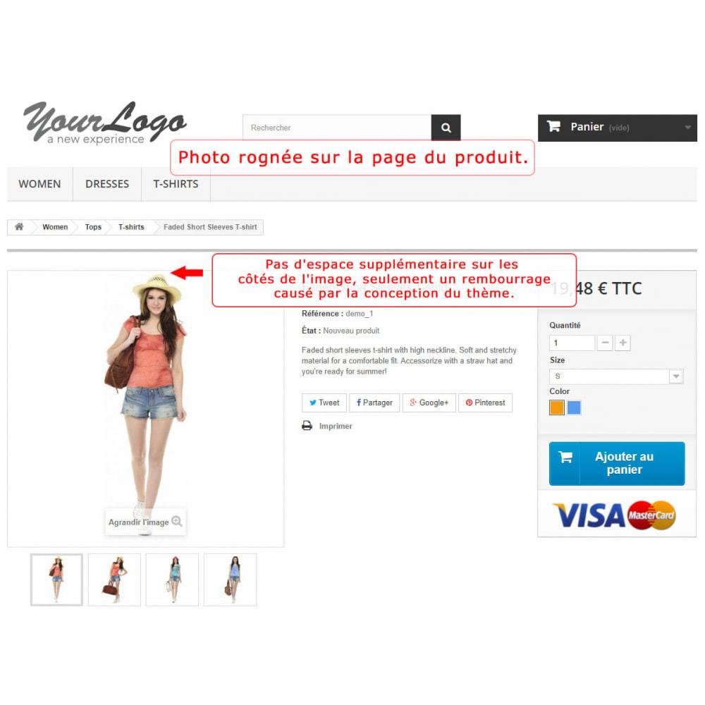 module - Personnalisation de Page - Découpage automatique et recadrage des images - 5