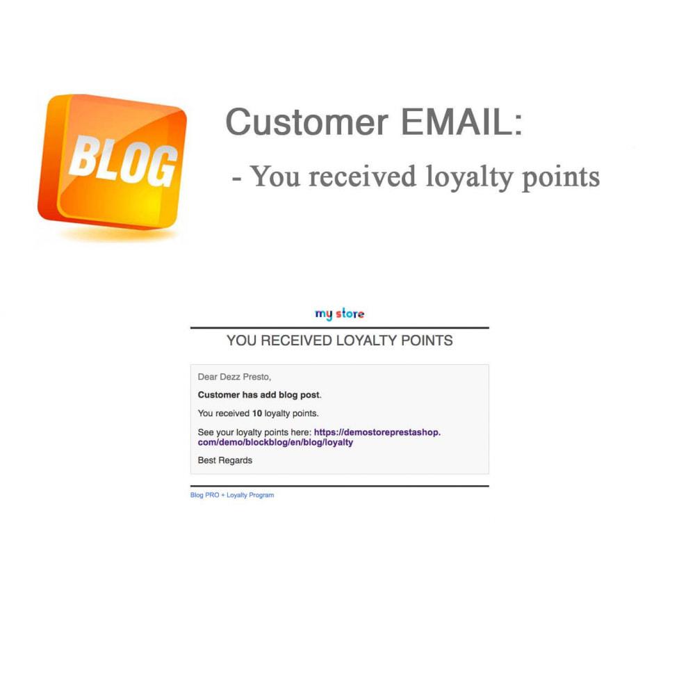 module - Блог, форумов и новостей - Blog PRO + Loyalty Program - 73