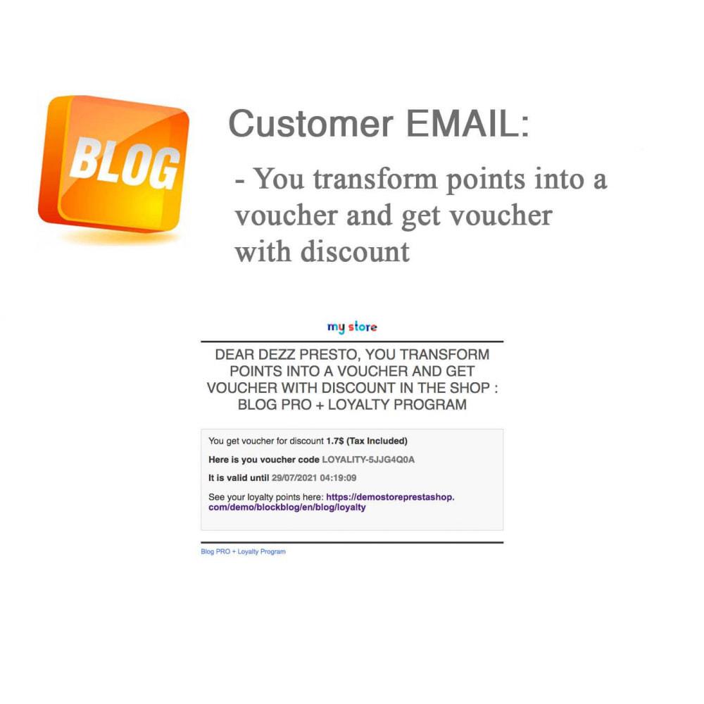 module - Блог, форумов и новостей - Blog PRO + Loyalty Program - 74