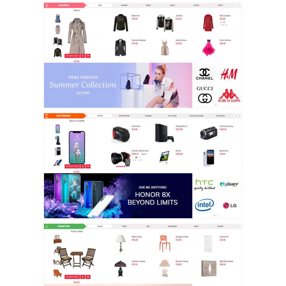theme - Electronics & Computers - Supermarket & Mobile App Layout - 3