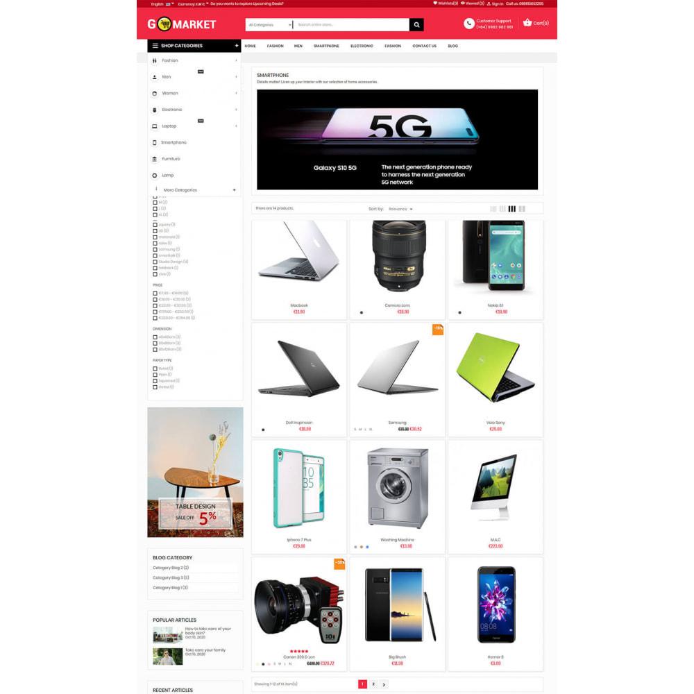 theme - Electronics & Computers - Supermarket & Mobile App Layout - 5