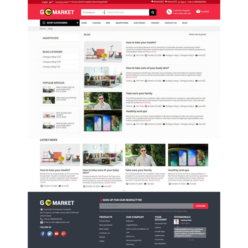 theme - Electronics & Computers - Supermarket & Mobile App Layout - 6