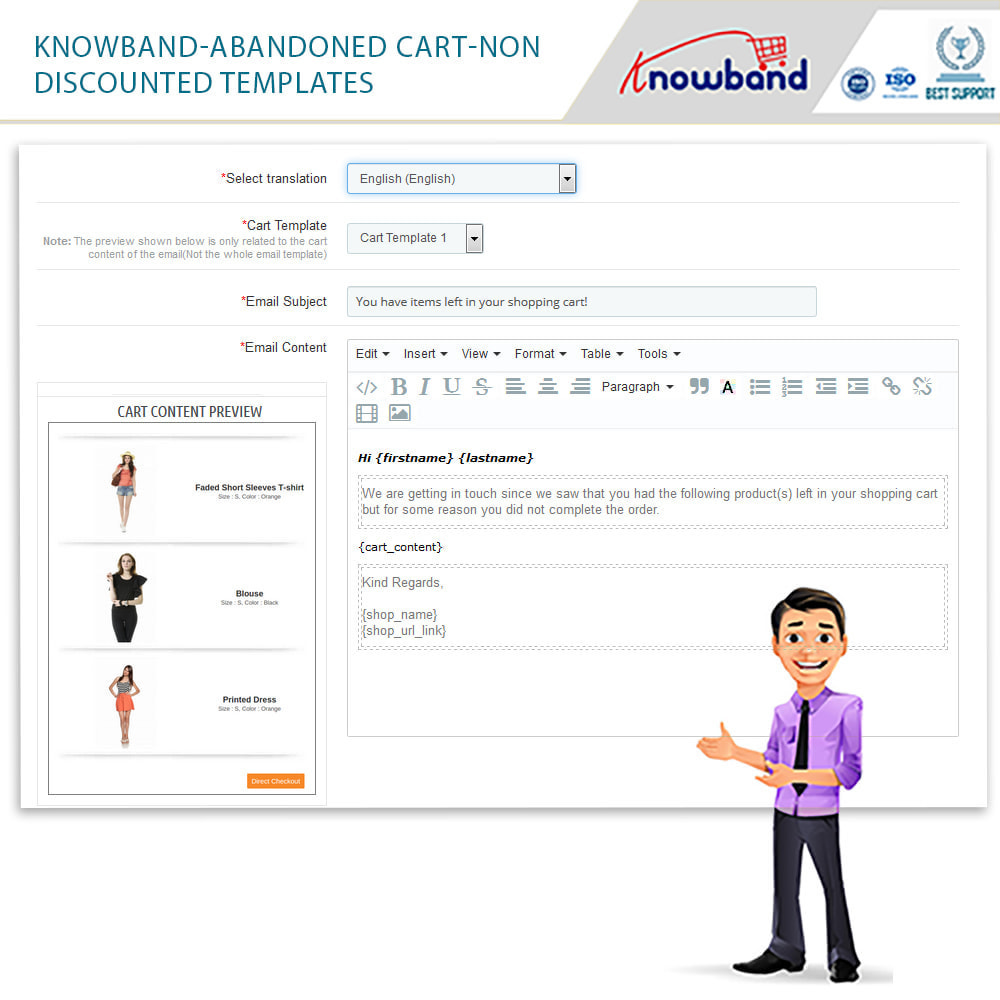 module - Remarketing & Shopping Cart Abandonment - Knowband - Abandoned Cart Serial Reminders - 17