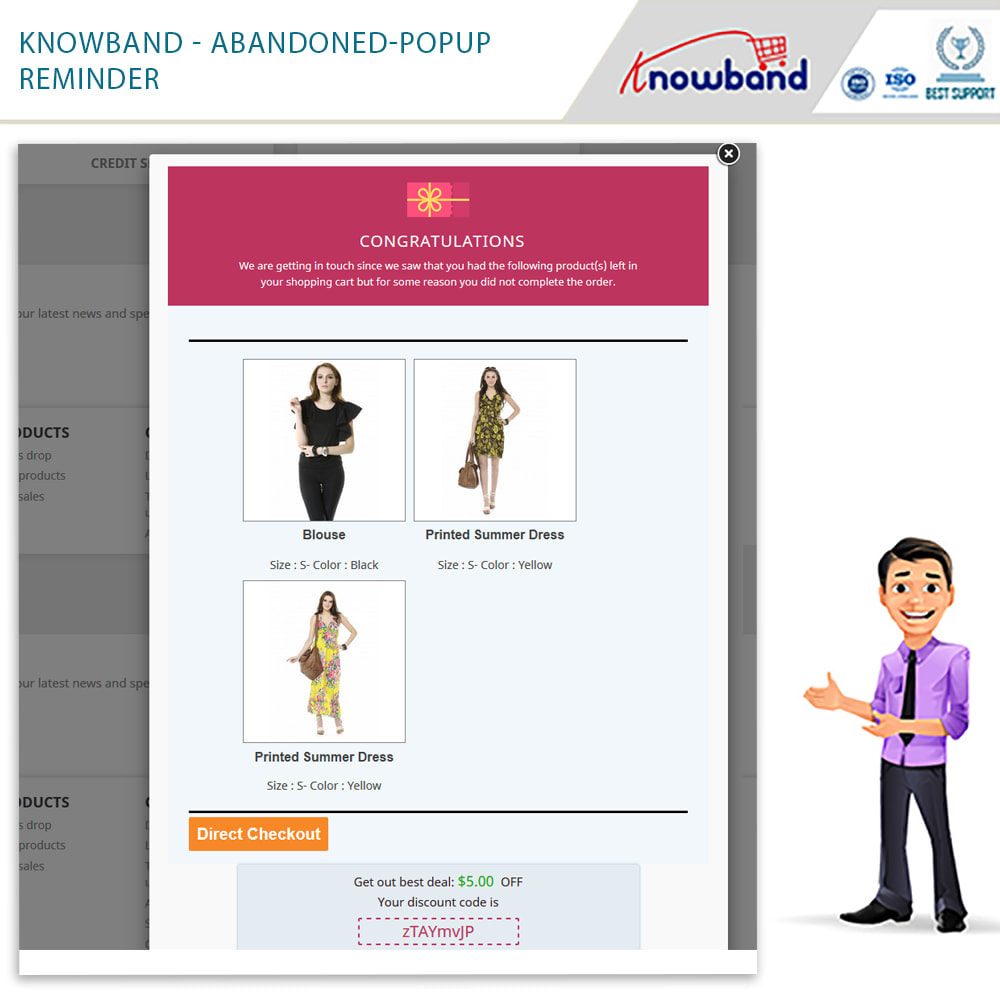 module - Remarketing & Shopping Cart Abandonment - Knowband - Abandoned Cart Serial Reminders - 19