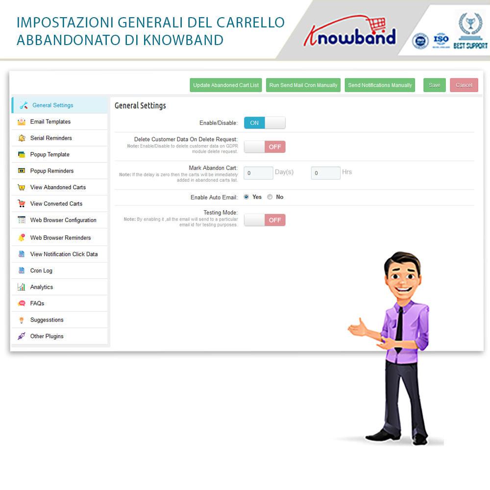 module - Remarketing & Carrelli abbandonati - Knowband-Reminder Periodici Carrello Abbandonato - 24