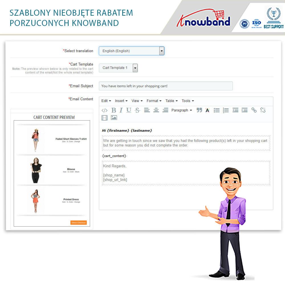 module - Remarketing & Opuszczone koszyki - Knowband - przypomnienie o opuszczonym koszyku - 21