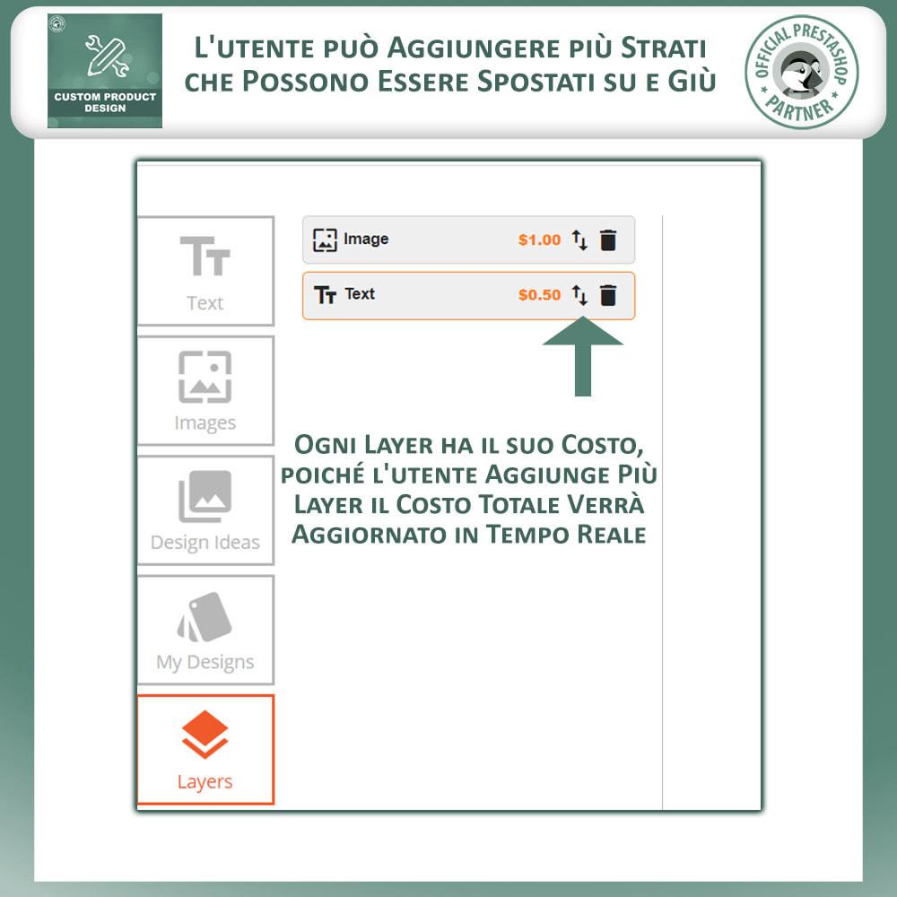 module - Combinazioni & Personalizzazione Prodotti - Designer Prodotto Personalizzato, Personalizza Prodotto - 7