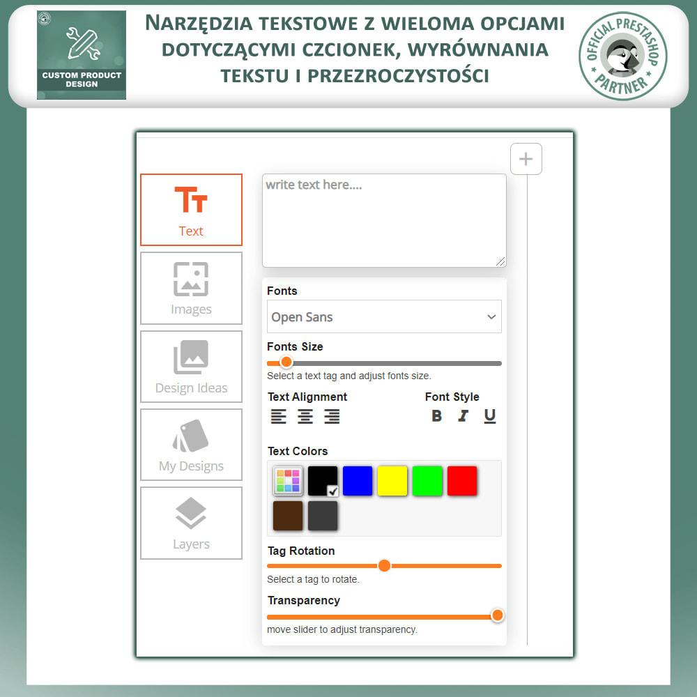 module - Deklinacje & Personalizacja produktów - Projektant Niestandardowego Produktu, Personalizacja - 3