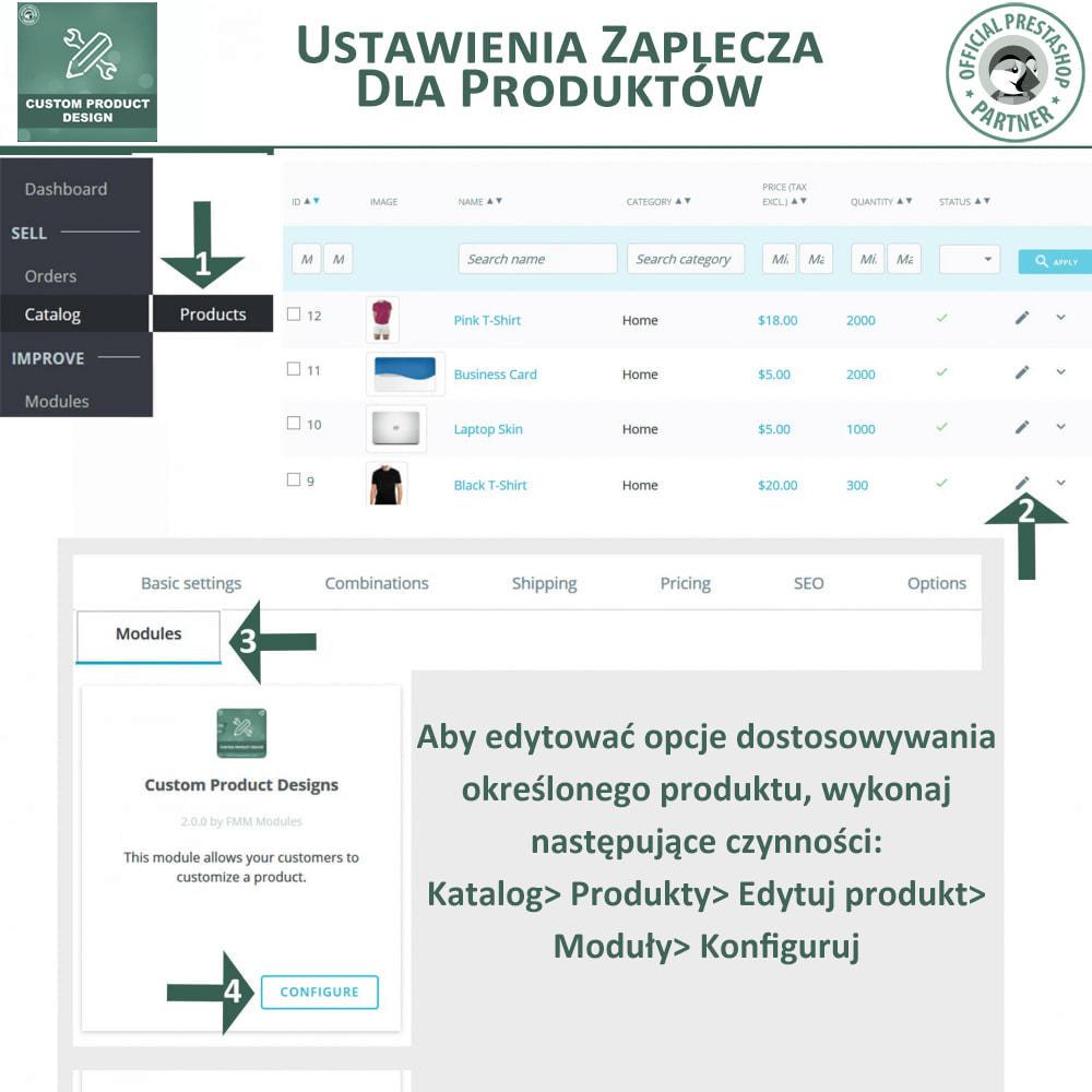 module - Deklinacje & Personalizacja produktów - Projektant Niestandardowego Produktu, Personalizacja - 15