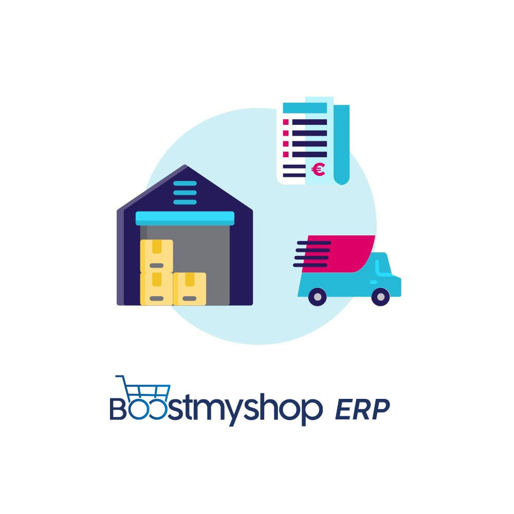 module - Datenabbindungen zu Drittsystemen (CRM, ERP, ...) - Boostmyshop ERP - Purchase Order management - 1