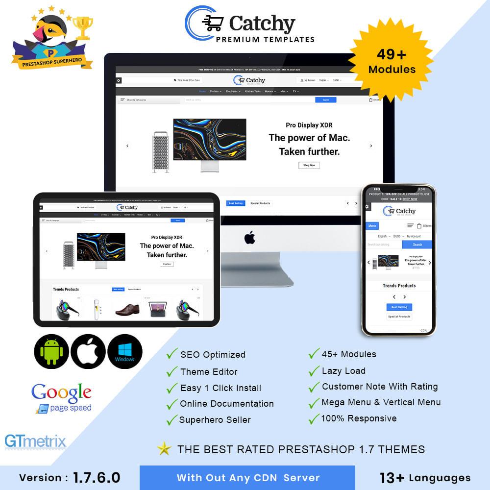 theme - Eletrônicos & High Tech - Catchy Electronic Store - 1
