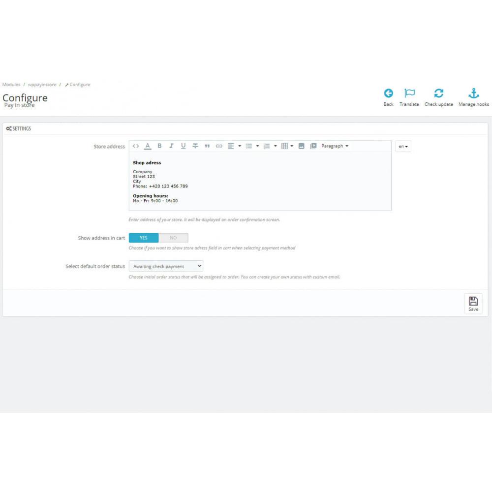 module - Betaling in de Winkel - Pay in store - 4