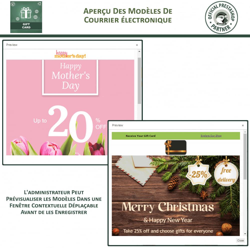 module - Liste de souhaits & Carte cadeau - Carte Cadeau - 15