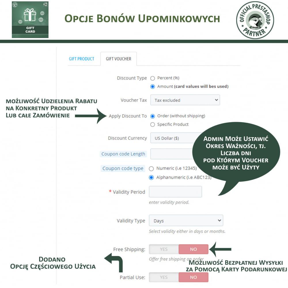 module - Lista życzeń & Karta podarunkowa - Karta Podarunkowa - 12