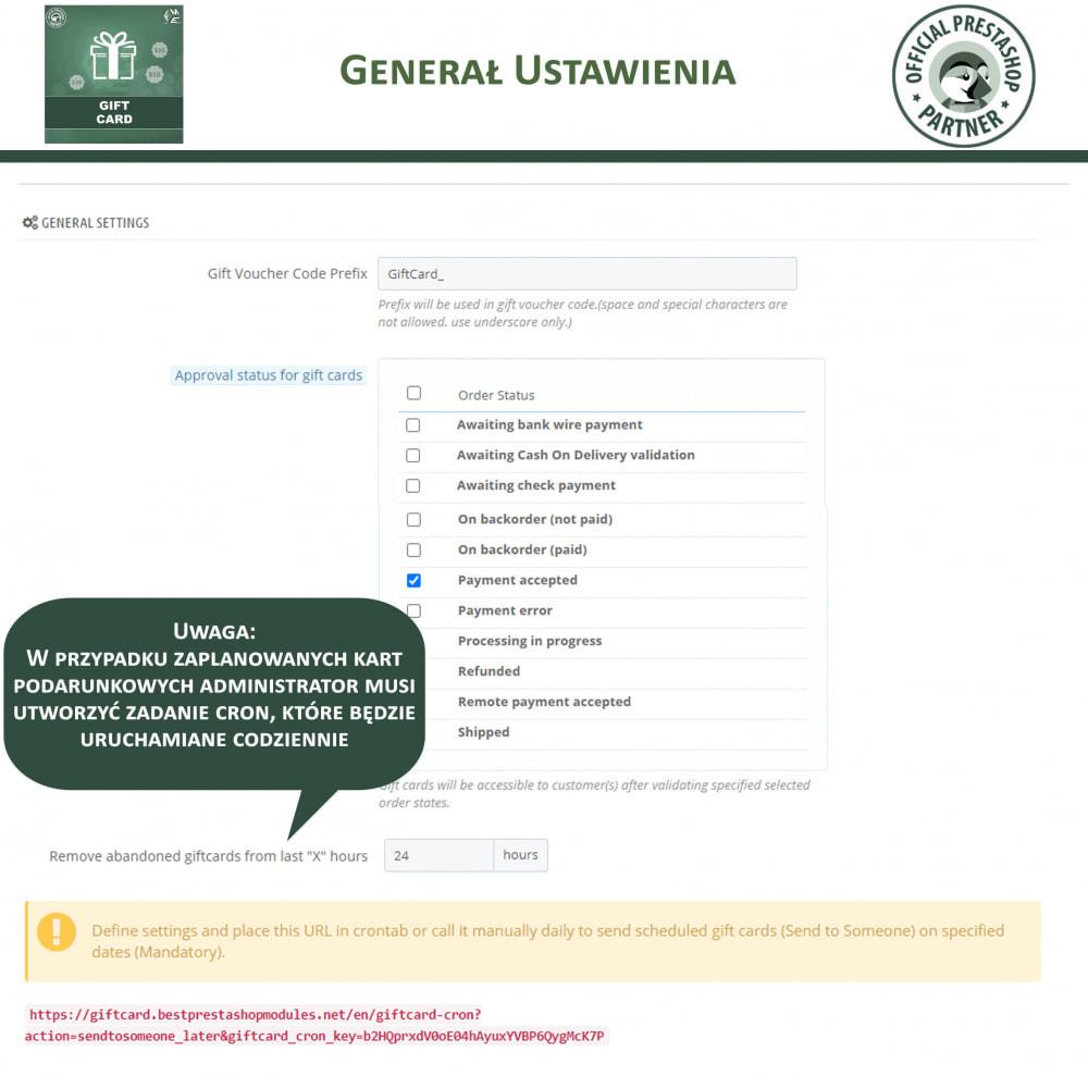 module - Lista życzeń & Karta podarunkowa - Karta Podarunkowa - 17