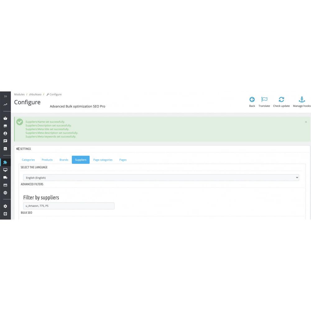 module - SEO (Indicizzazione naturale) - Advanced Bulk/Batch optimization SEO Pro - 12