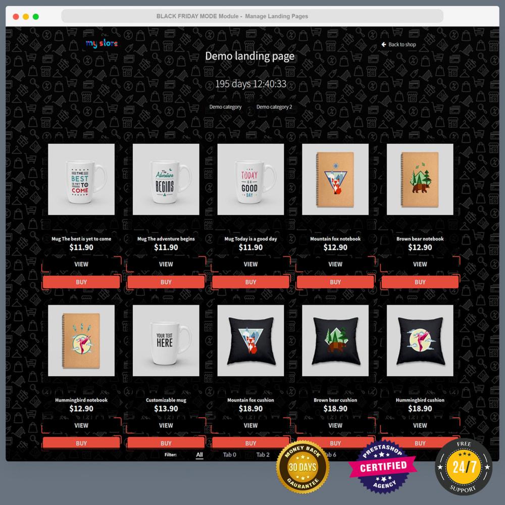 module - Promotions & Cadeaux - Mode Black Friday - Page de promotions, countdown, etc - 16