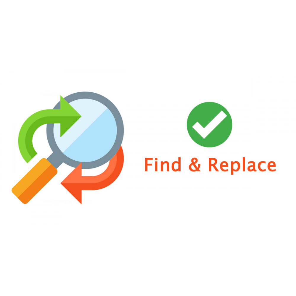 module - Search & Filters - Advanced Bulk/Batch Find And Replacement Pro - 1