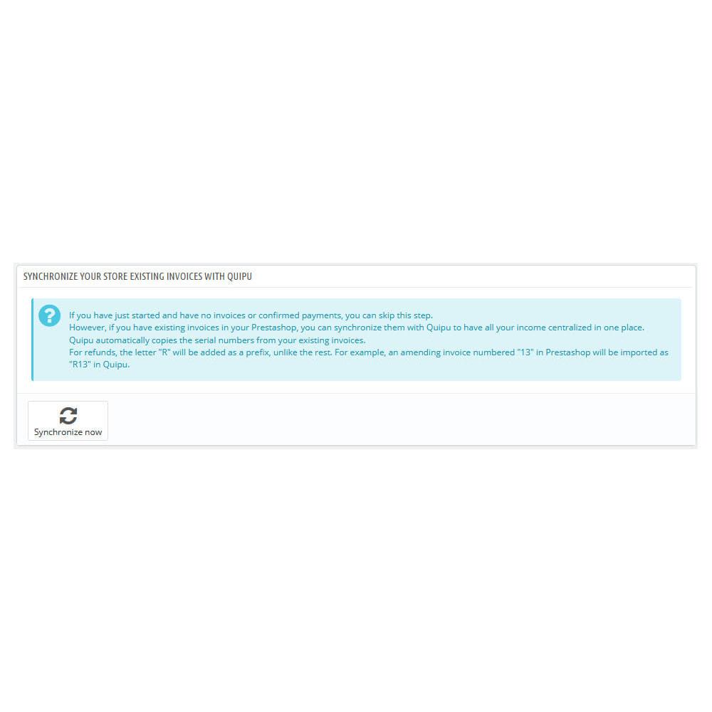module - Connexion à un logiciel tiers (CRM, ERP...) - Official Quipu Connector - 5