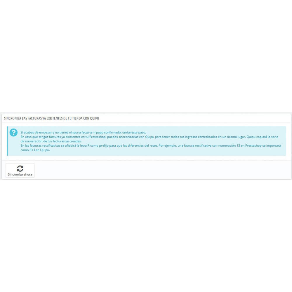 module - Integración con CRM, ERP... - Conector Quipu Oficial - 5