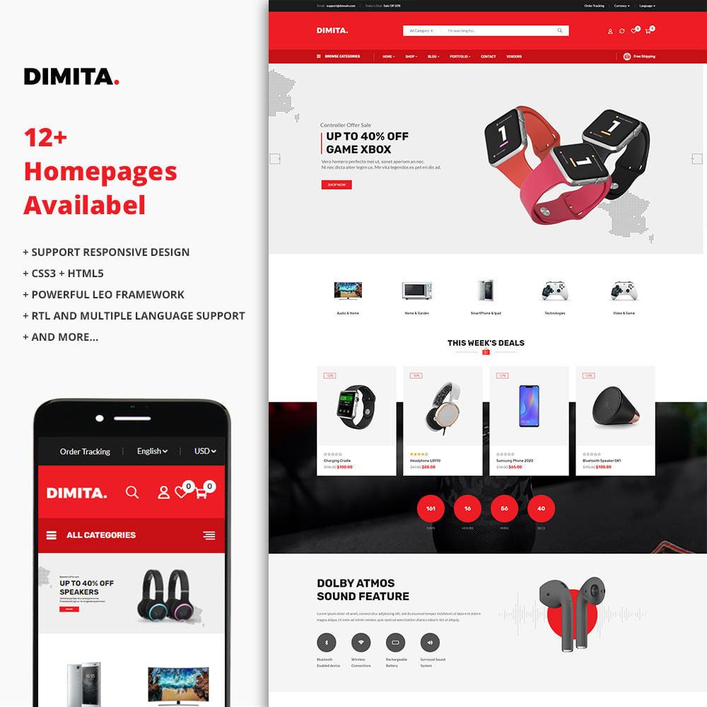 theme - Elektronika & High Tech - Dimita - Electronics Ecommerce Store - 1
