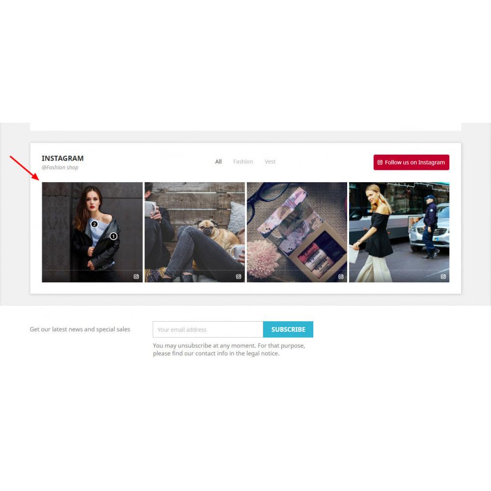 module - Produkty w serwisach społecznościowych - Social Feed Slider - Instagram New API - 3