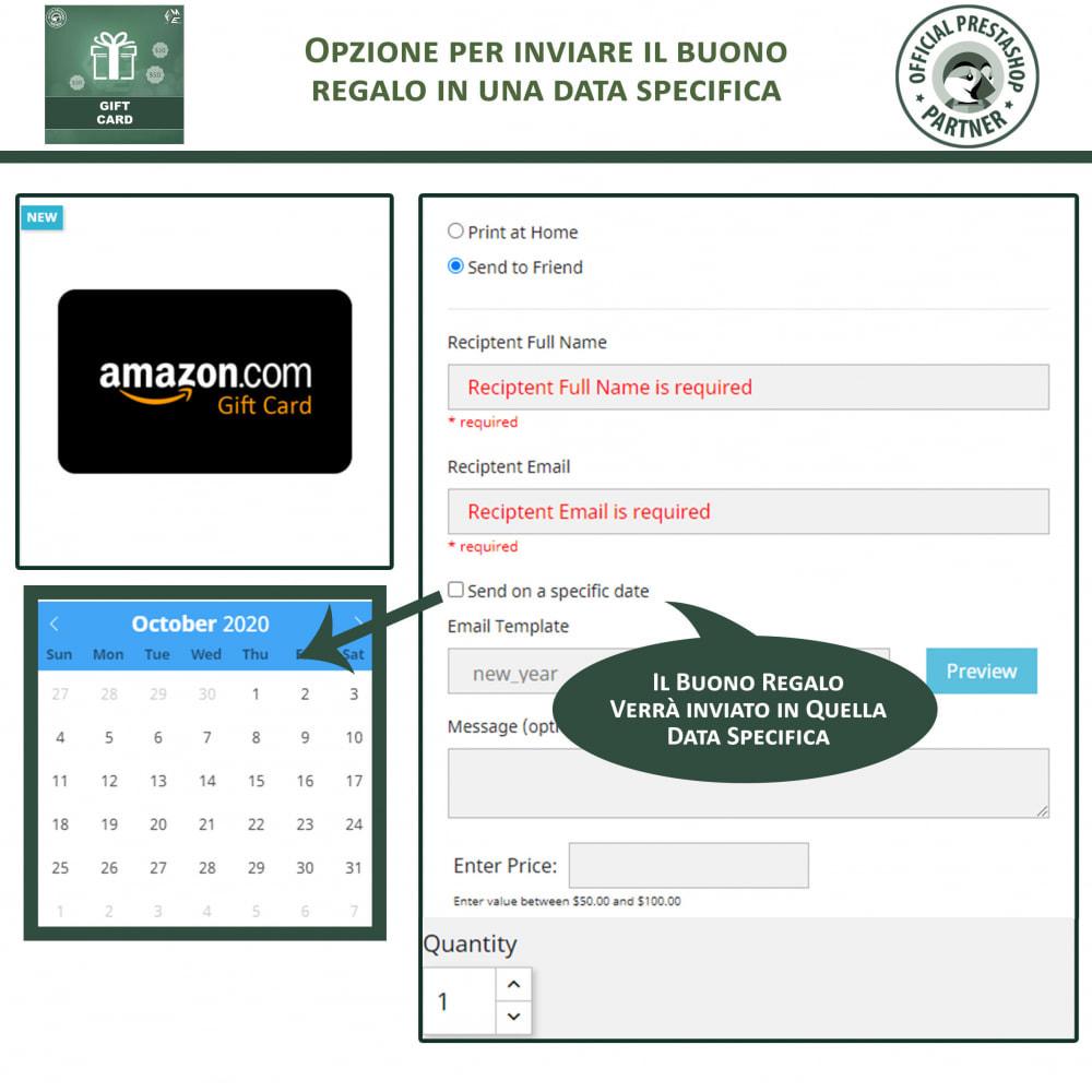module - Whishlist & Gift Card - Gift Card - Gift Certificates & Vouchers - 4
