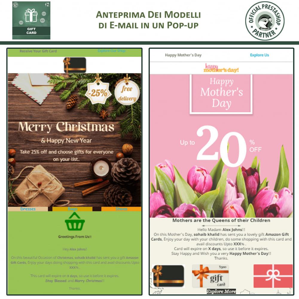 module - Whishlist & Gift Card - Gift Card - Gift Certificates & Vouchers - 5