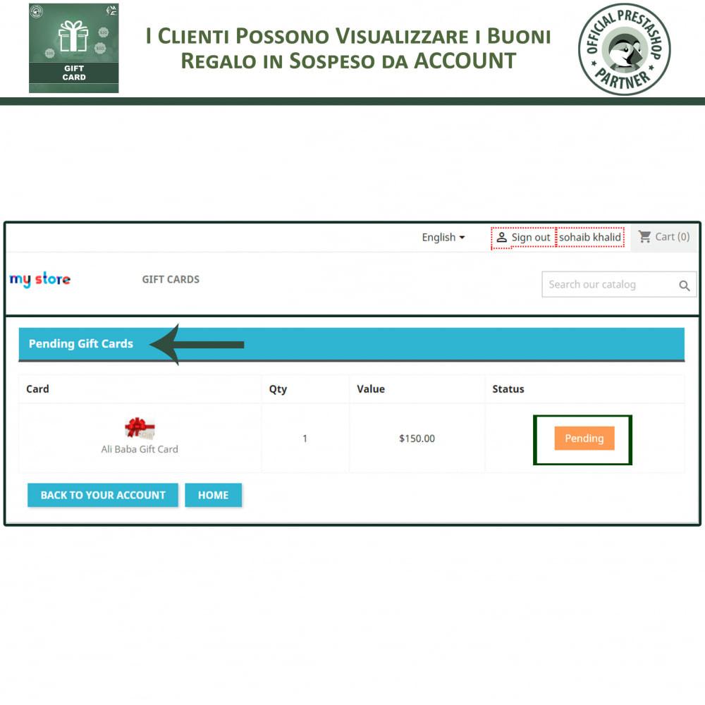 module - Whishlist & Gift Card - Gift Card - Gift Certificates & Vouchers - 7