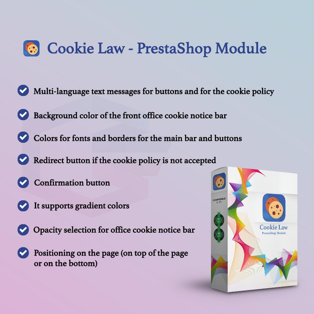 module - Wzmianki prawne - Cookie Law - 2