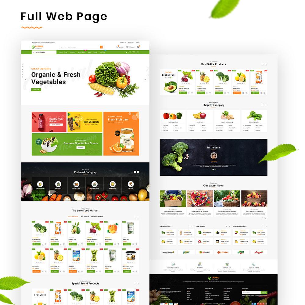 theme - Alimentos & Restaurantes - Organic Mega–Food and Fresh–Grocery Super Store - 2