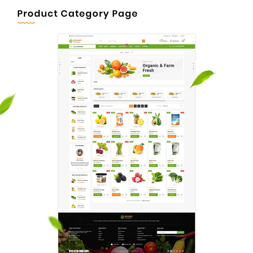 theme - Alimentos & Restaurantes - Organic Mega–Food and Fresh–Grocery Super Store - 3