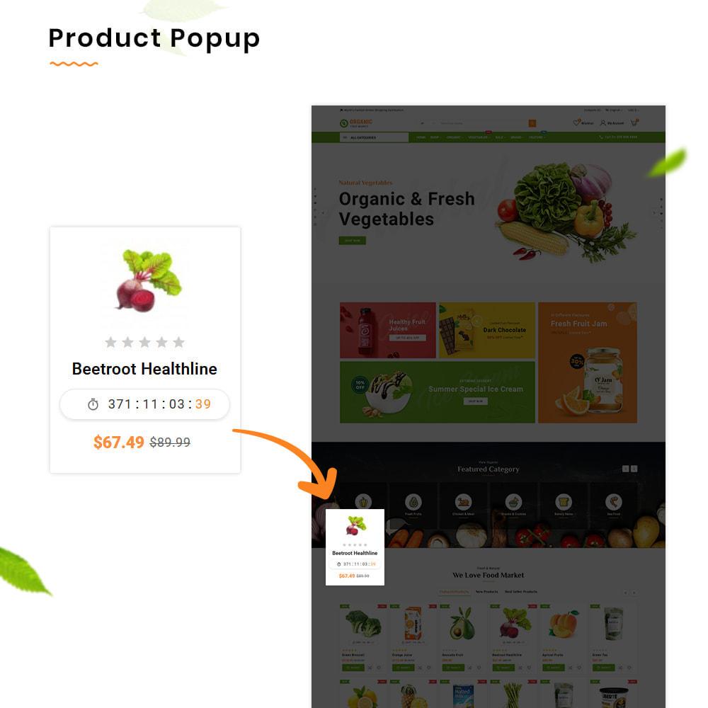 theme - Alimentation & Restauration - Organic Mega–Nourriture et Frais–Épicerie Super Store - 11
