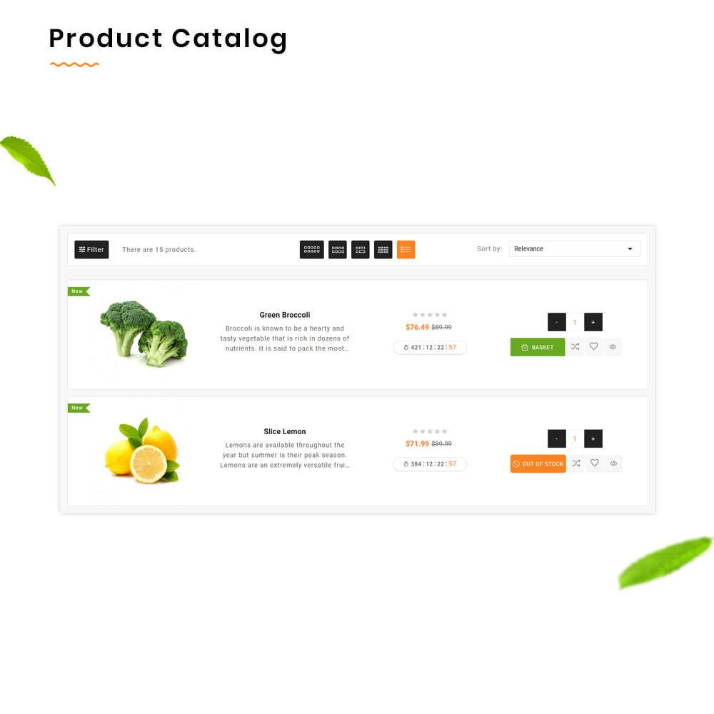 theme - Alimentation & Restauration - Organic Mega–Nourriture et Frais–Épicerie Super Store - 13