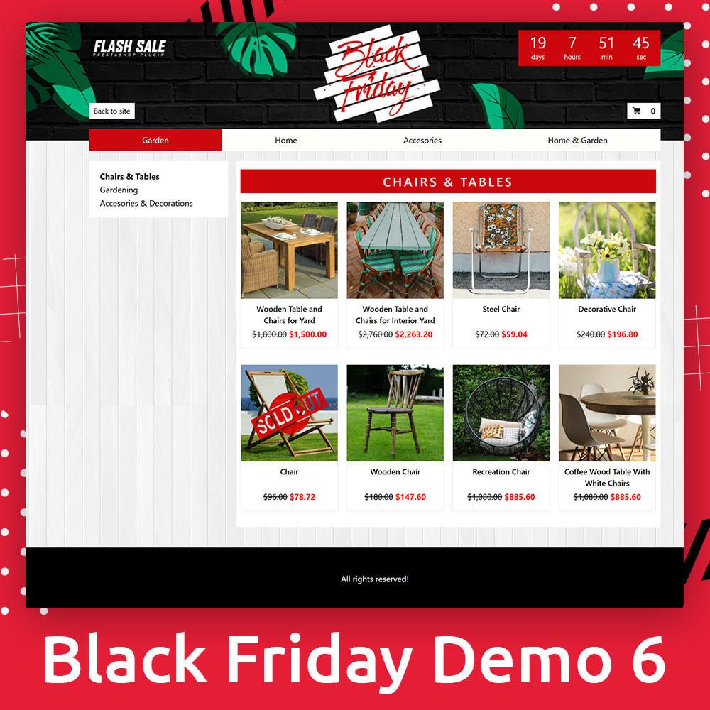 module - Акции и Подарки - Flash SALES Page Builder PRO - Black Friday - 7