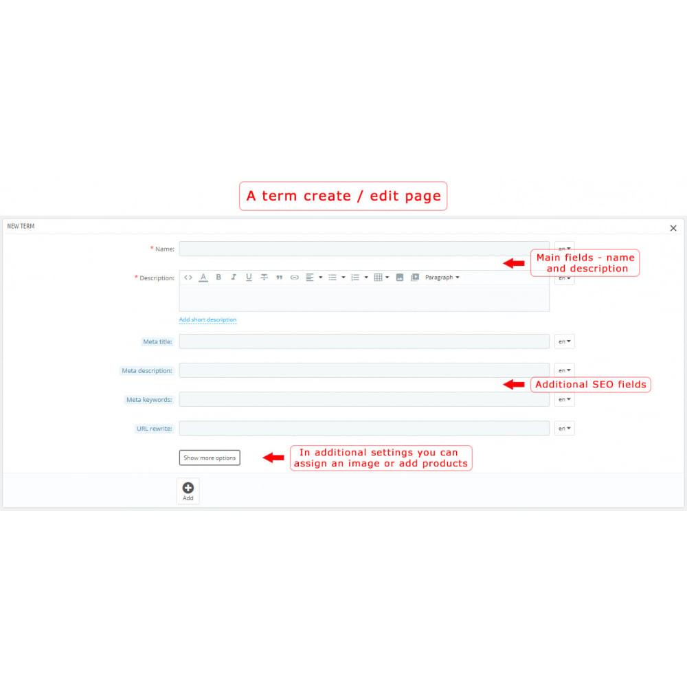 module - Page Customization - Super Glossary - 10